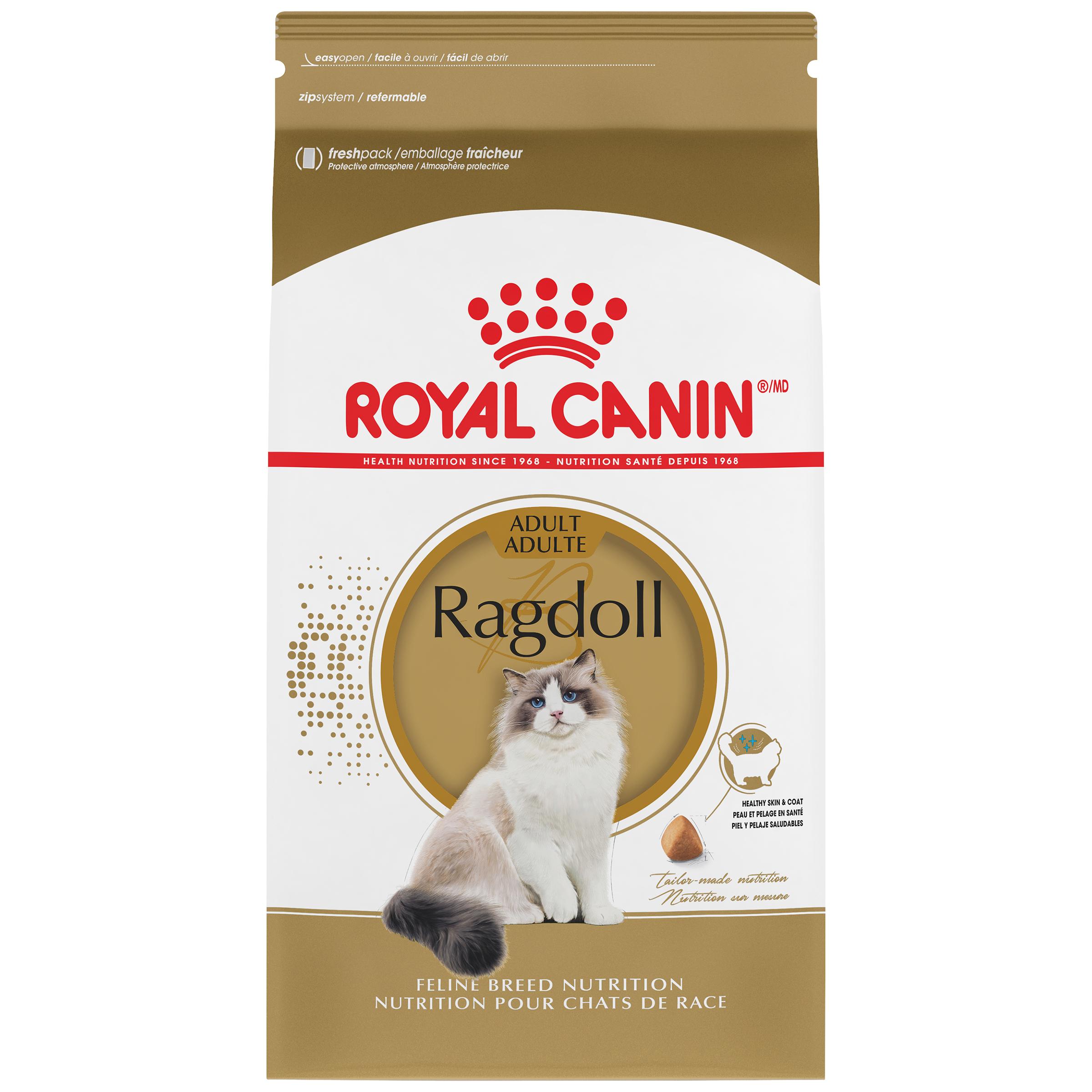 Royal Canin Feline Breed Nutrition Ragdoll Adult Dry Cat Food Image