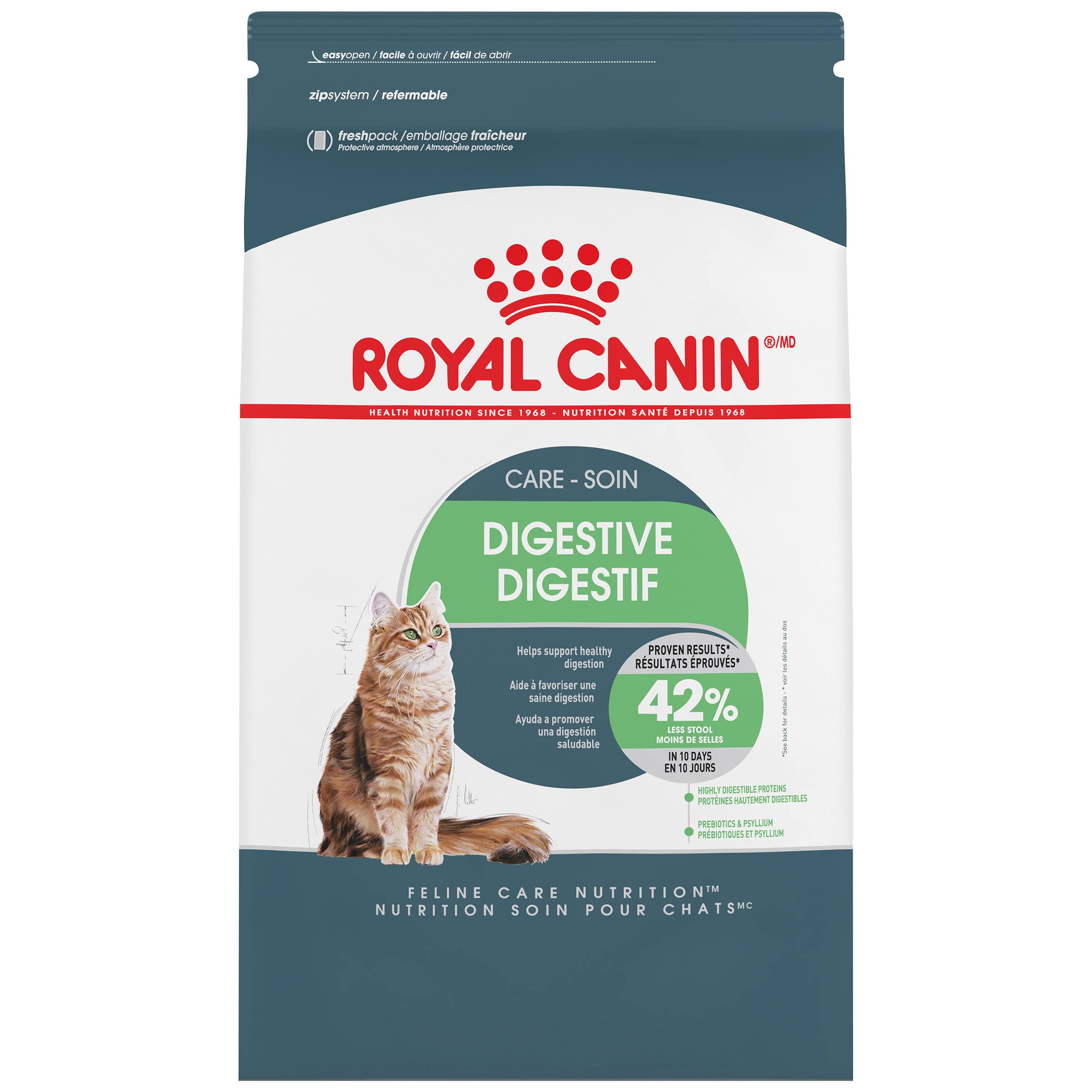 Royal Canin Feline Care Nutrition Digestive Care Adult Dry Cat Food Image