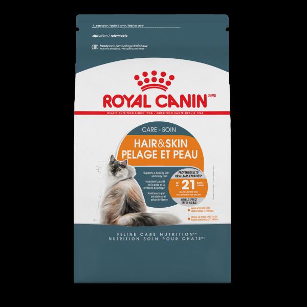 Royal Canin FBN Hair & Skin Care Adult Dry Cat Food, 3.5-lb
