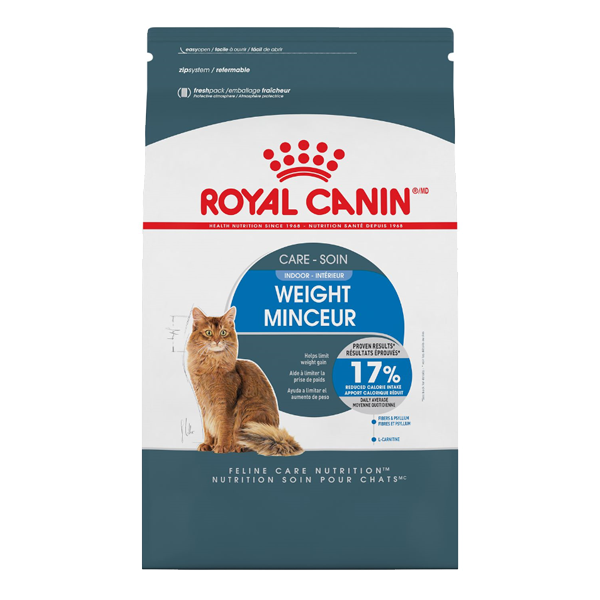 Royal Canin FBN Indoor Weight Care Adult Dry Cat Food, 14-lb