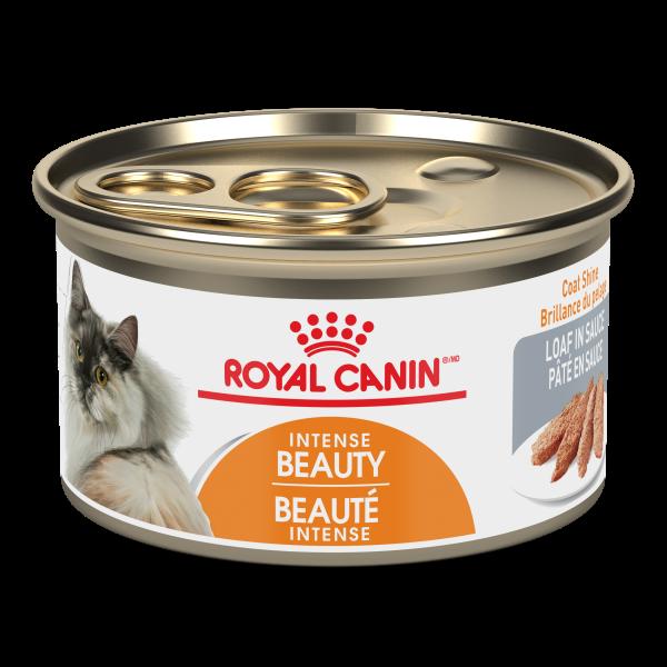 Royal Canin FCN Intense Beauty Loaf in Gravy Wet Cat Food, 165-gm