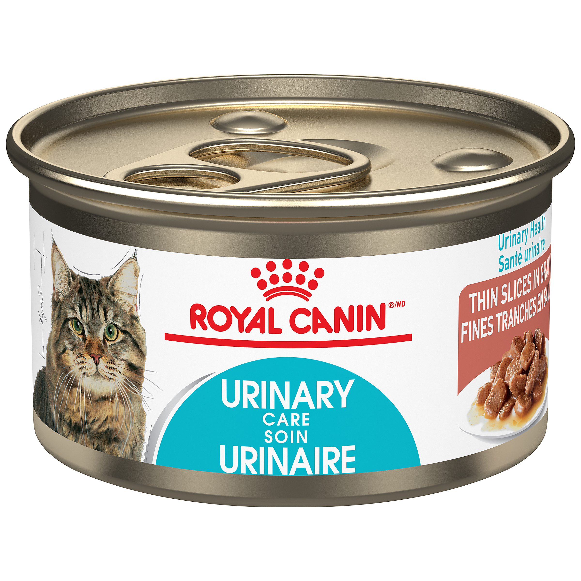 Royal Canin Feline Care Nutrition Urinary Care Thin Slices in Gravy Wet Cat Food, 85-gm