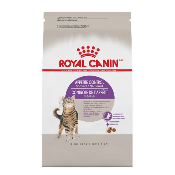 Royal Canin FHN Appetite Control Spayed Neutered 1-6+ Adult Dry Cat Food, 13-lb