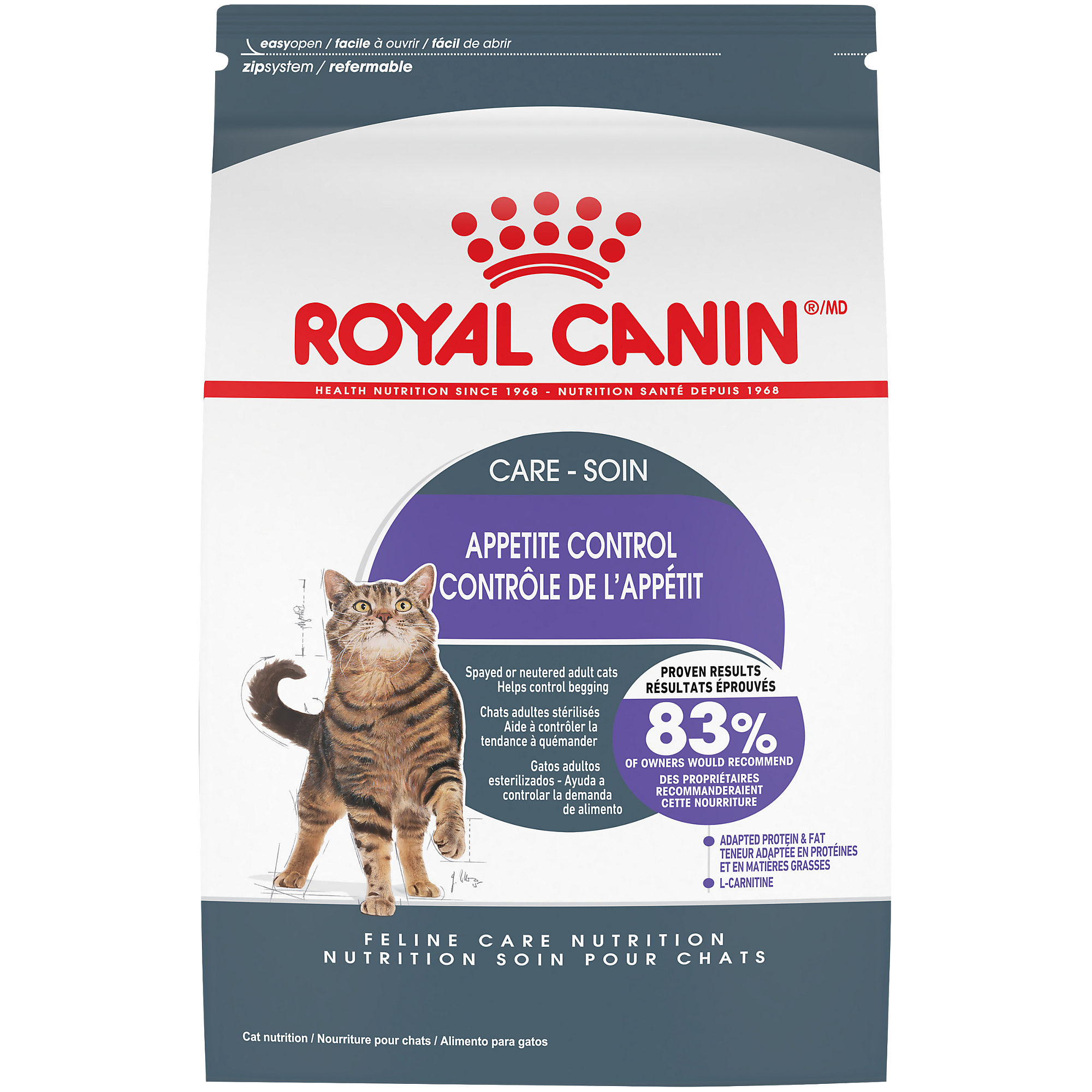 Royal Canin FHN Appetite Control Spayed Neutered Adult Dry Cat Food Image
