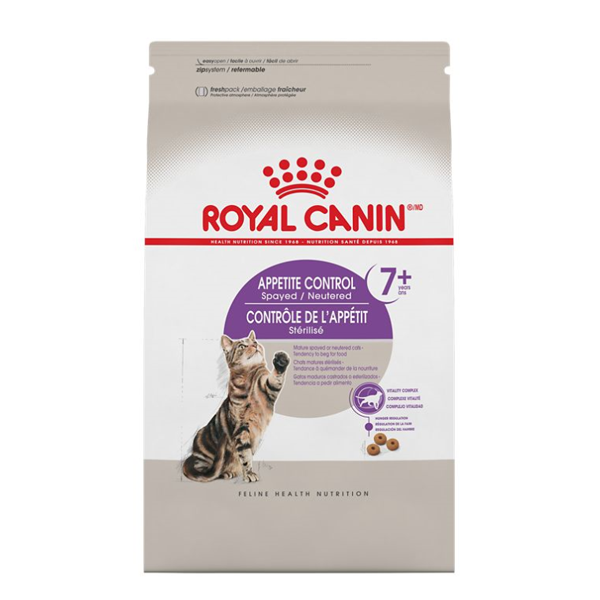 Royal Canin FHN Appetite Control Spayed Neutered 7+ Adult Dry Cat Food Image