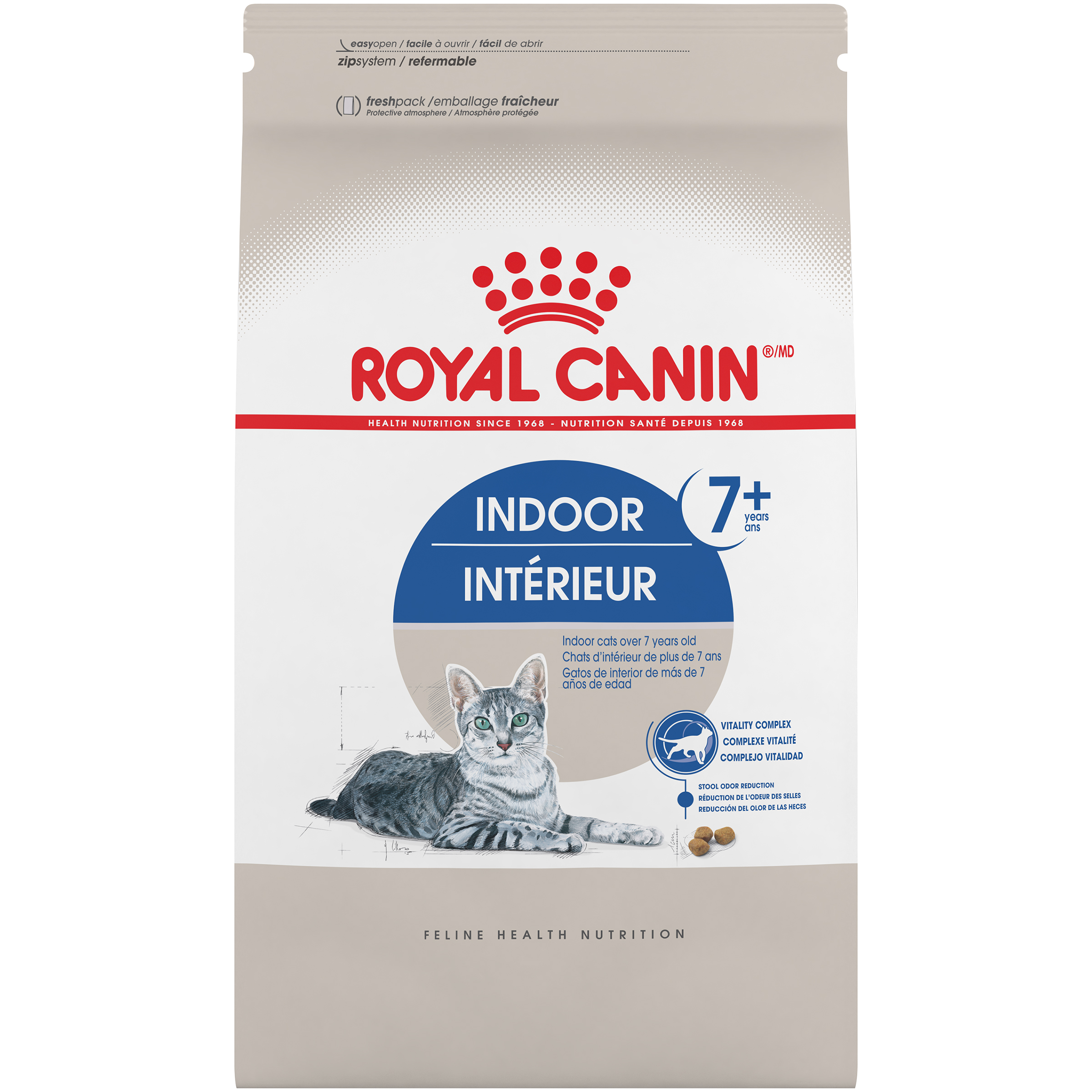 Royal Canin FHN Indoor Adult 7+ Dry Cat Food Image