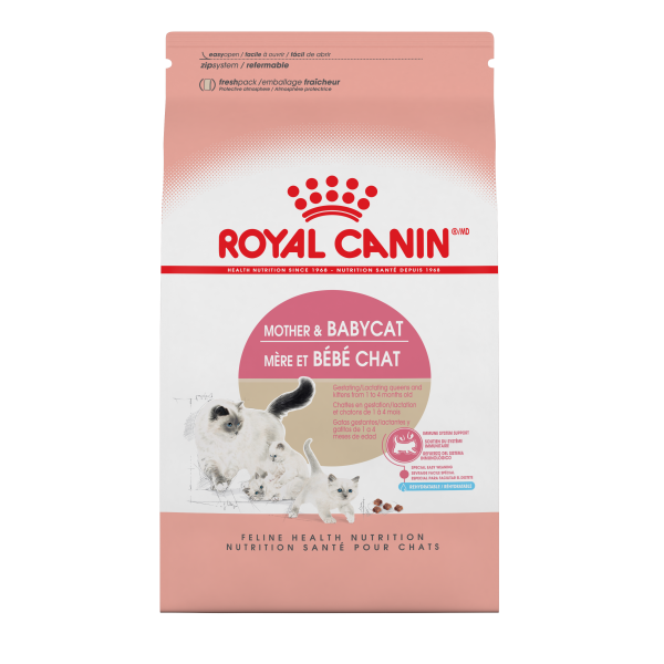 Royal Canin FHN Mother & Baby Dry Cat Food, 7-lb