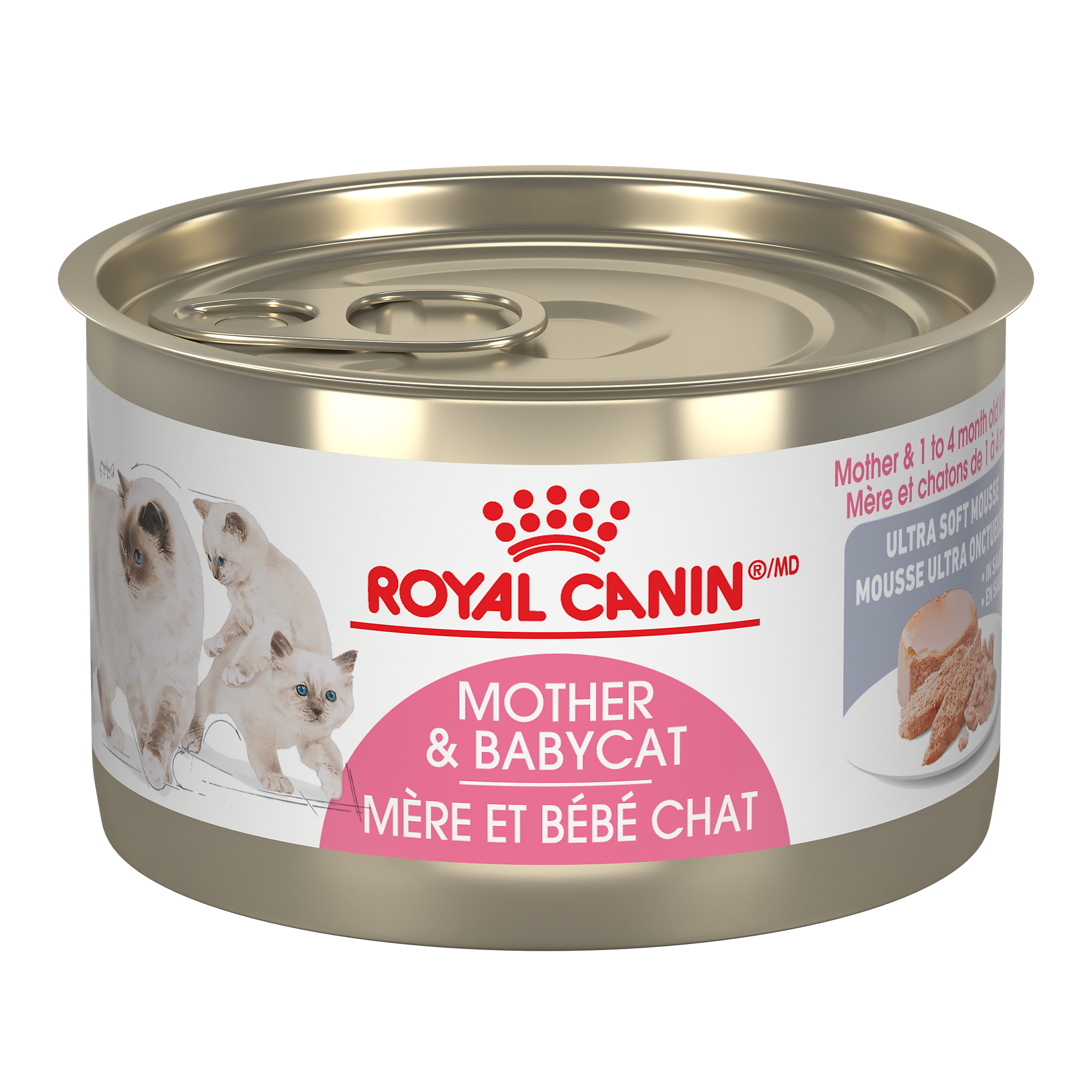 Royal Canin FHN Mother & Baby Ultra Soft Mousse Canned Wet Cat Food Image
