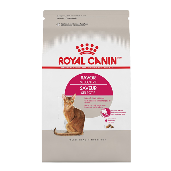 Royal Canin FHN Savor Selective Dry Cat Food Image