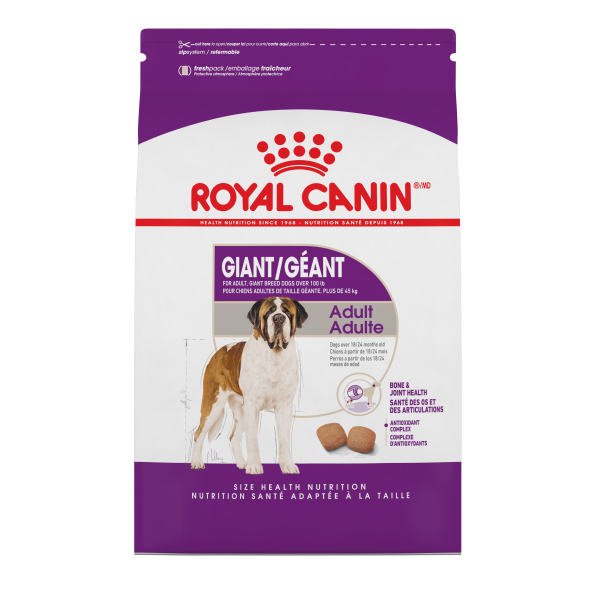 Royal Canin SHN Giant Adult Dry Dog Food, 35-lb
