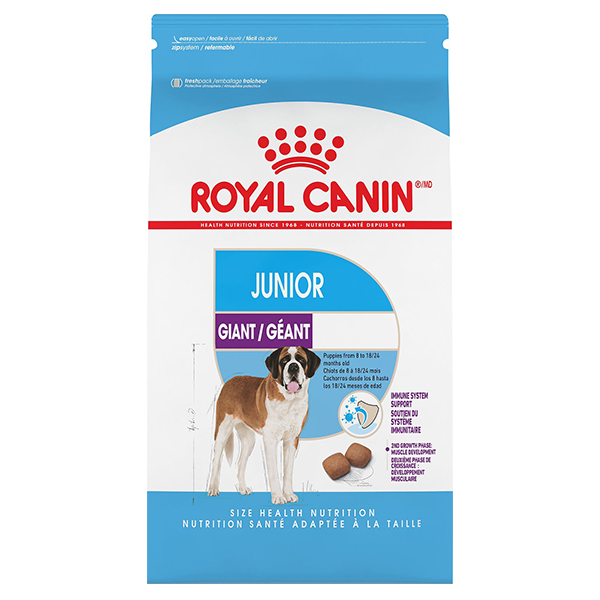 Royal Canin SHN Giant Junior Dry Dog Food, 30-lb