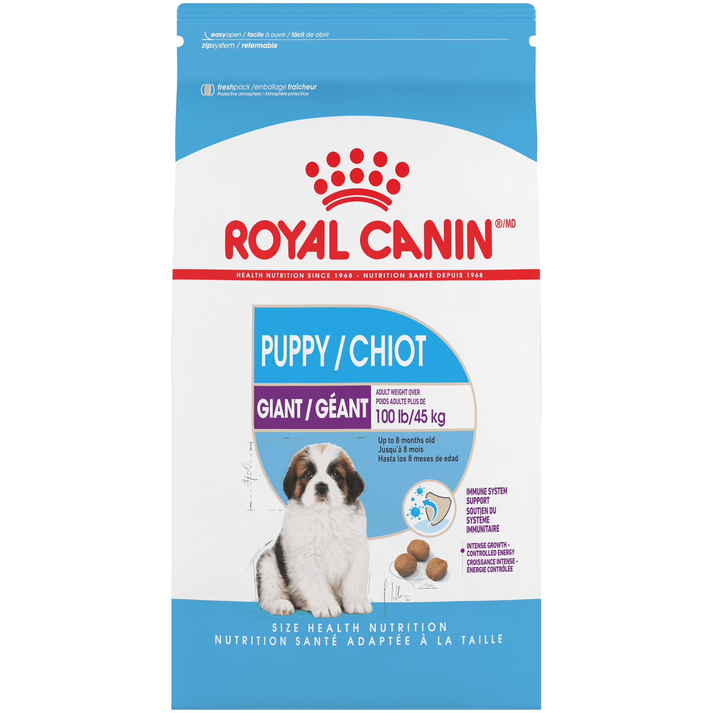 Royal Canin SHN Giant Puppy Dry Dog Food, 30-lb