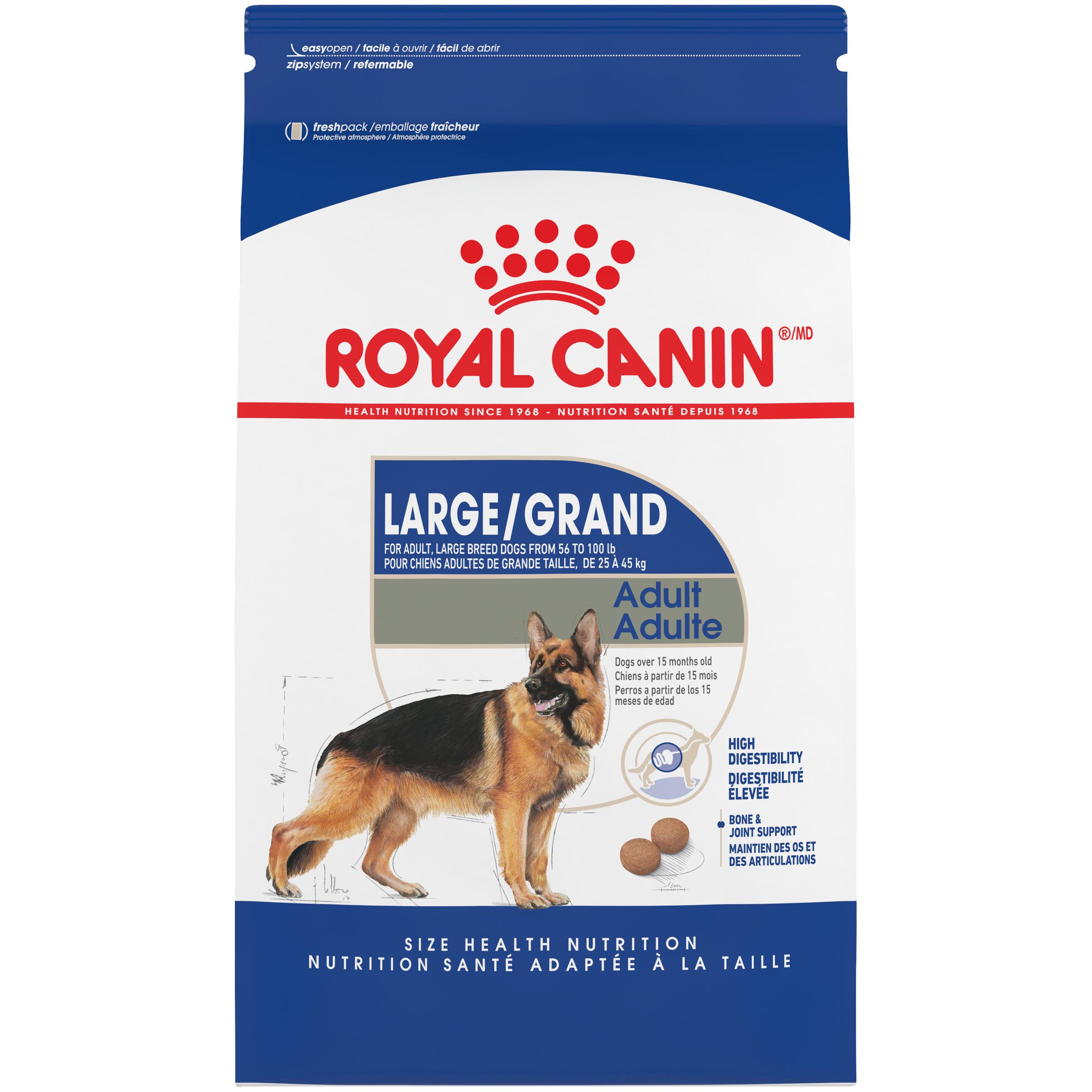 Royal Canin SHN Large Adult Dry Dog Food, 35-lb