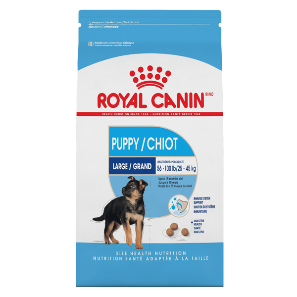 Royal Canin SHN Large Puppy Dry Dog Food, 35-lb