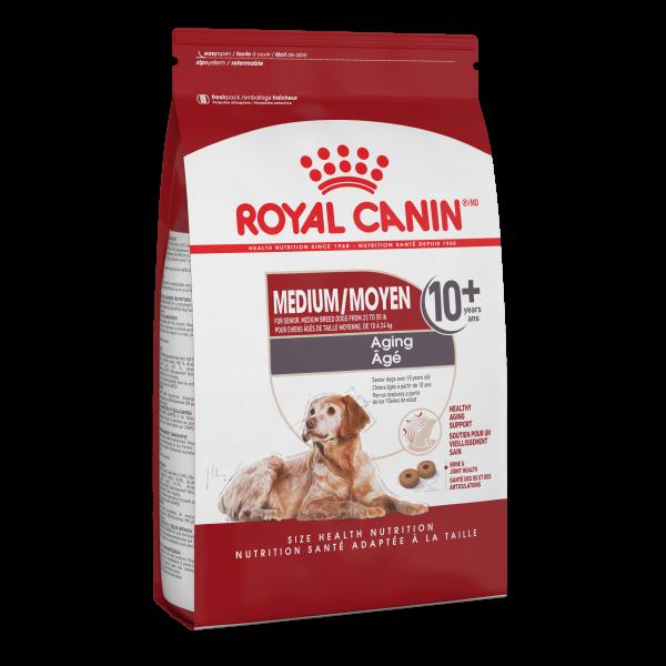 Royal Canin SHN Medium Aging 10+ Dry Dog Food, 30-lb