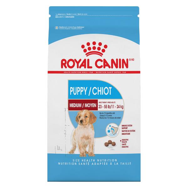 Royal Canin SHN Medium Puppy Dry Dog Food, 17-lb