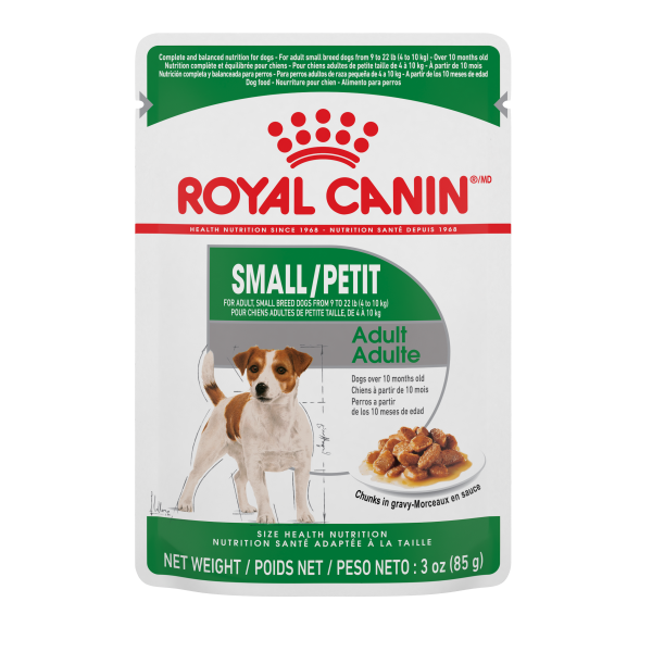 Royal Canin SHN Small Adult Chunks in Gravy Pouch Wet Dog Food, 85-gm
