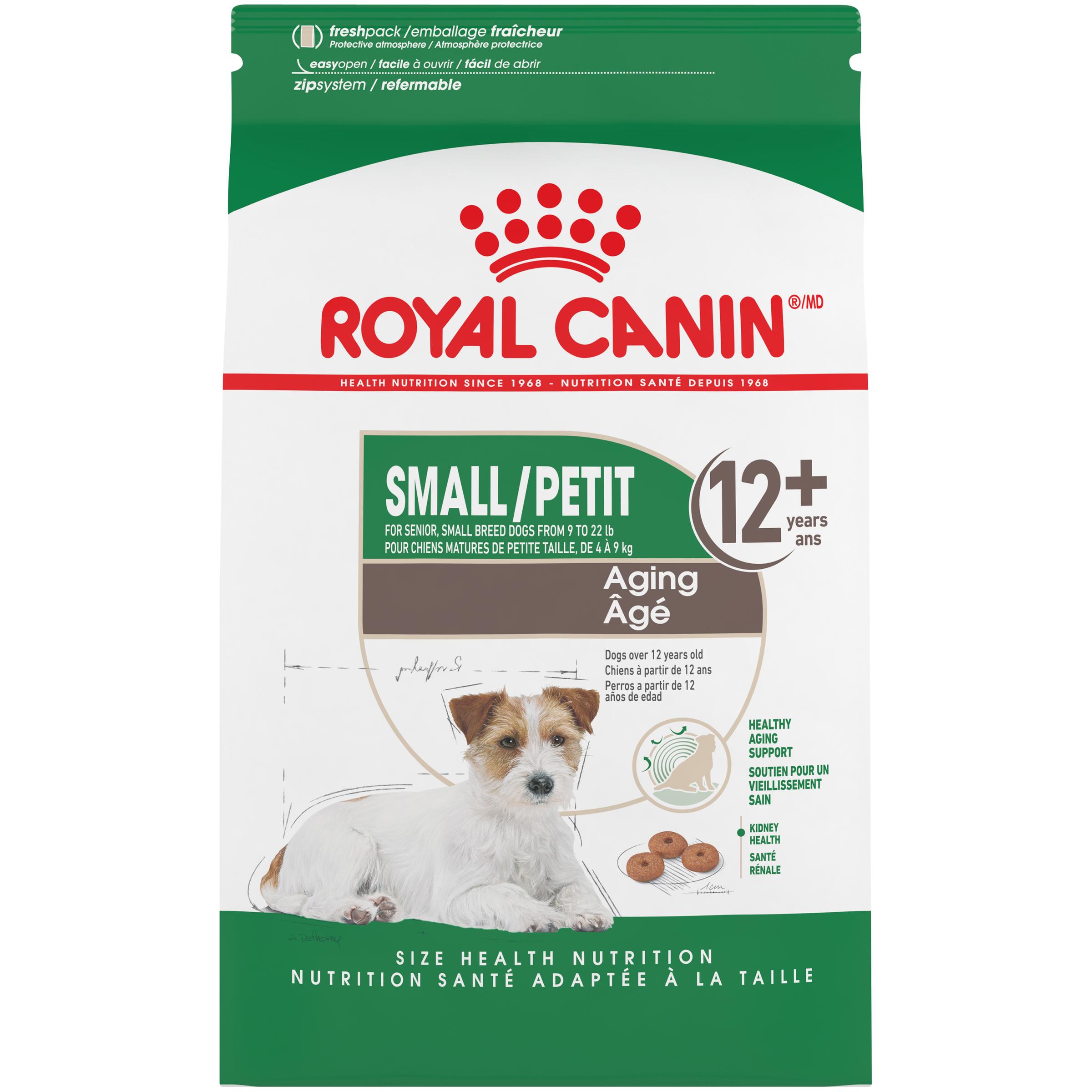 Royal Canin SHN Small Aging Dry Dog Food, 12-lb