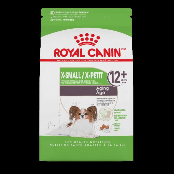 Royal Canin SHN Extra Small Aging 12+ Dry Dog Food, 2.5-lb