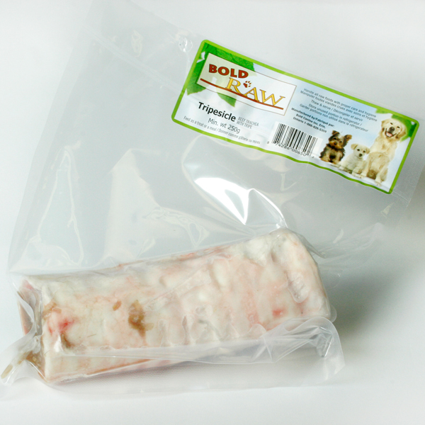 Bold Raw Frozen Tripesicles Dog Treats, 2-lb