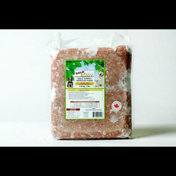 Bold Raw Turkey Dog Food Image