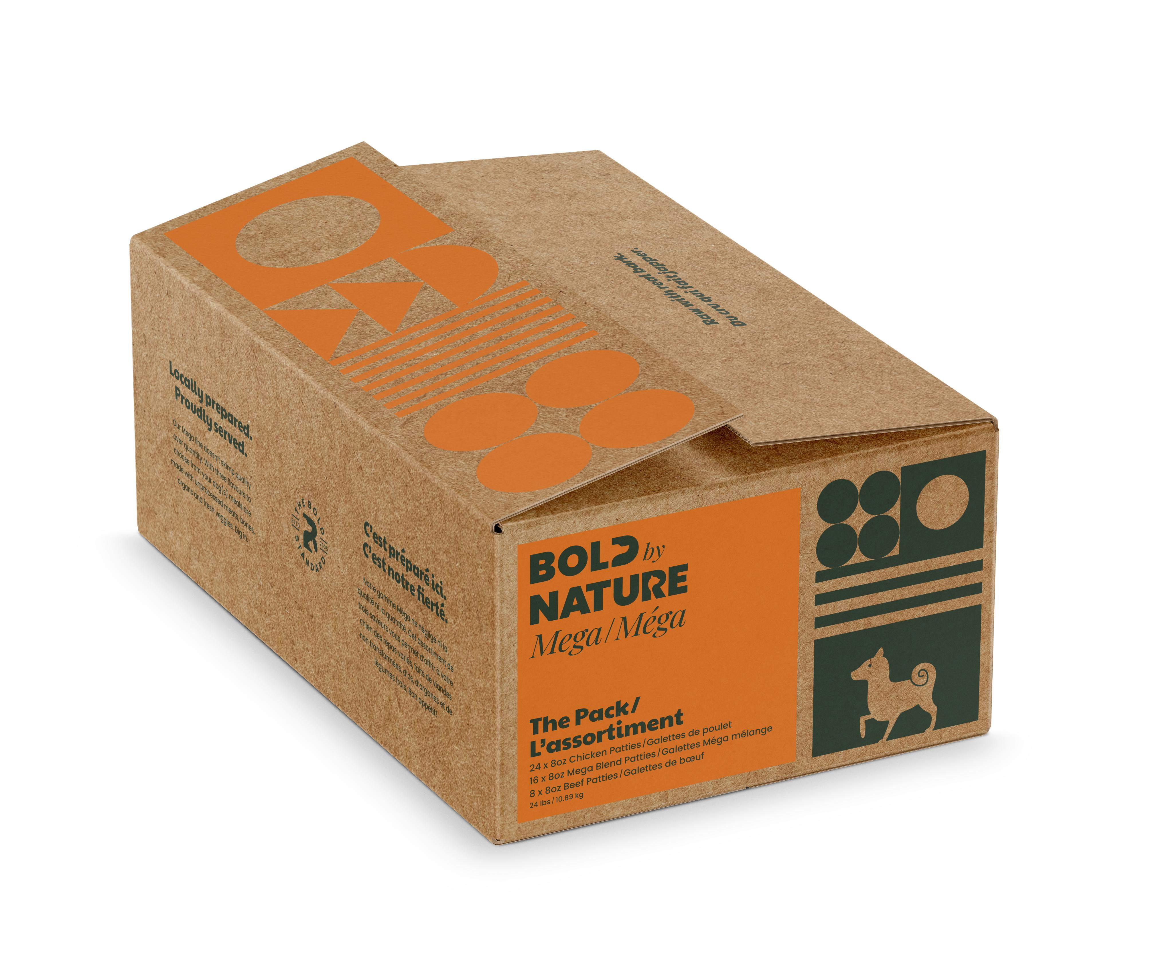 Bold by Nature Dog Mega Variety Pack with Chicken Patties Image