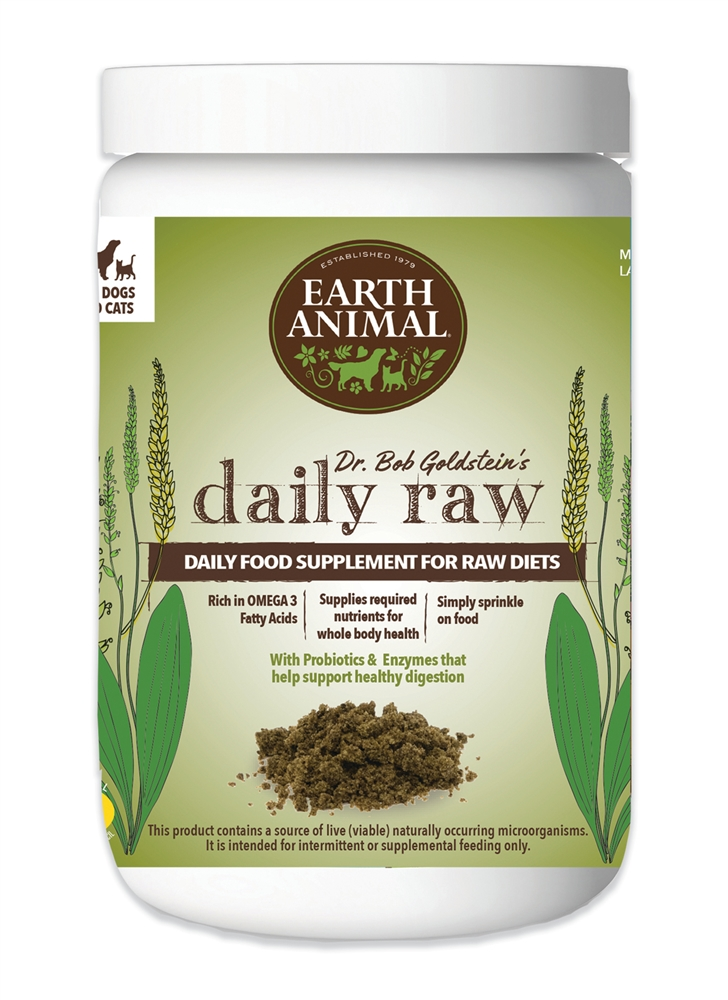 Earth Animal Daily Raw Food Suppliment for Dogs Image