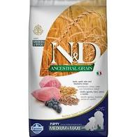 Farmina N&D Ancestral Grain Lamb & Blueberry Medium & Maxi Puppy Dry Dog Food Image