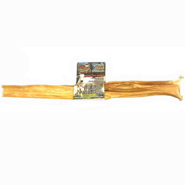 Open Range X-treme Tripe Bully Stick Dog Treats, 12-in