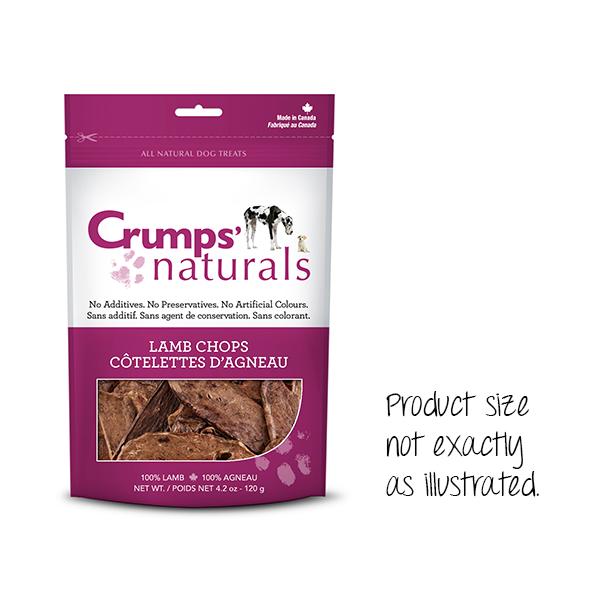 Crumps' Naturals Lamb Chops Freeze-Dried Dog Treats Image