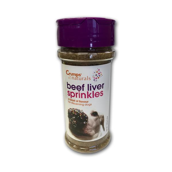 Crumps' Naturals Beef Liver Sprinkles Freeze-Dried Dog Treats, 5.6-oz
