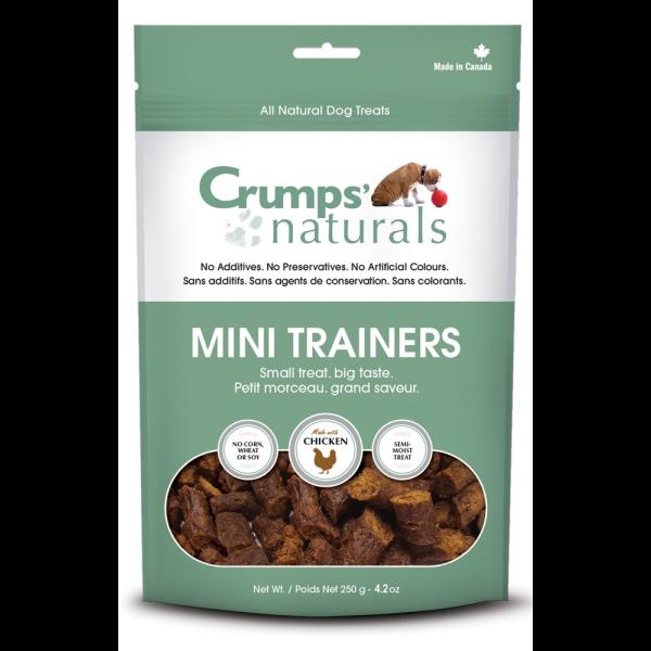 Crumps' Naturals Mini Trainers Semi-Moist Chicken Freeze-Dried Dog Treats Image
