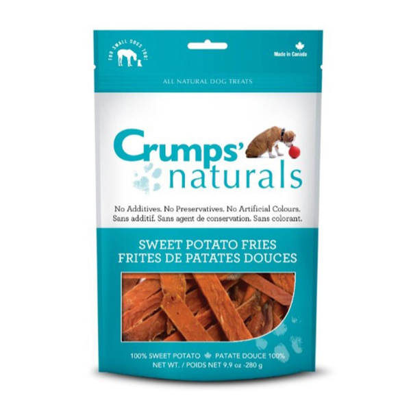 Crumps' Naturals Sweet Potato Fries Freeze-Dried Dog Treats Image