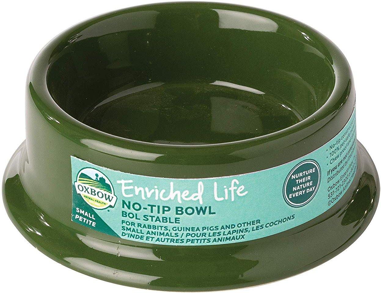 Oxbow No Tip Small Animal Bowl Image
