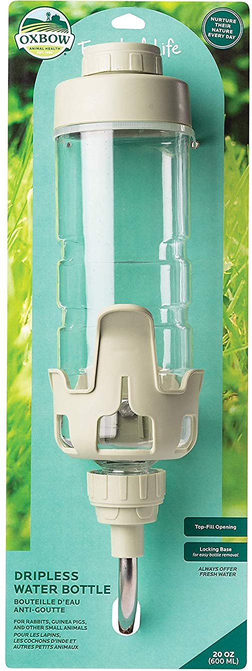 Oxbow Enriched Life Dripless Small Animal Water Bottle, 20-oz