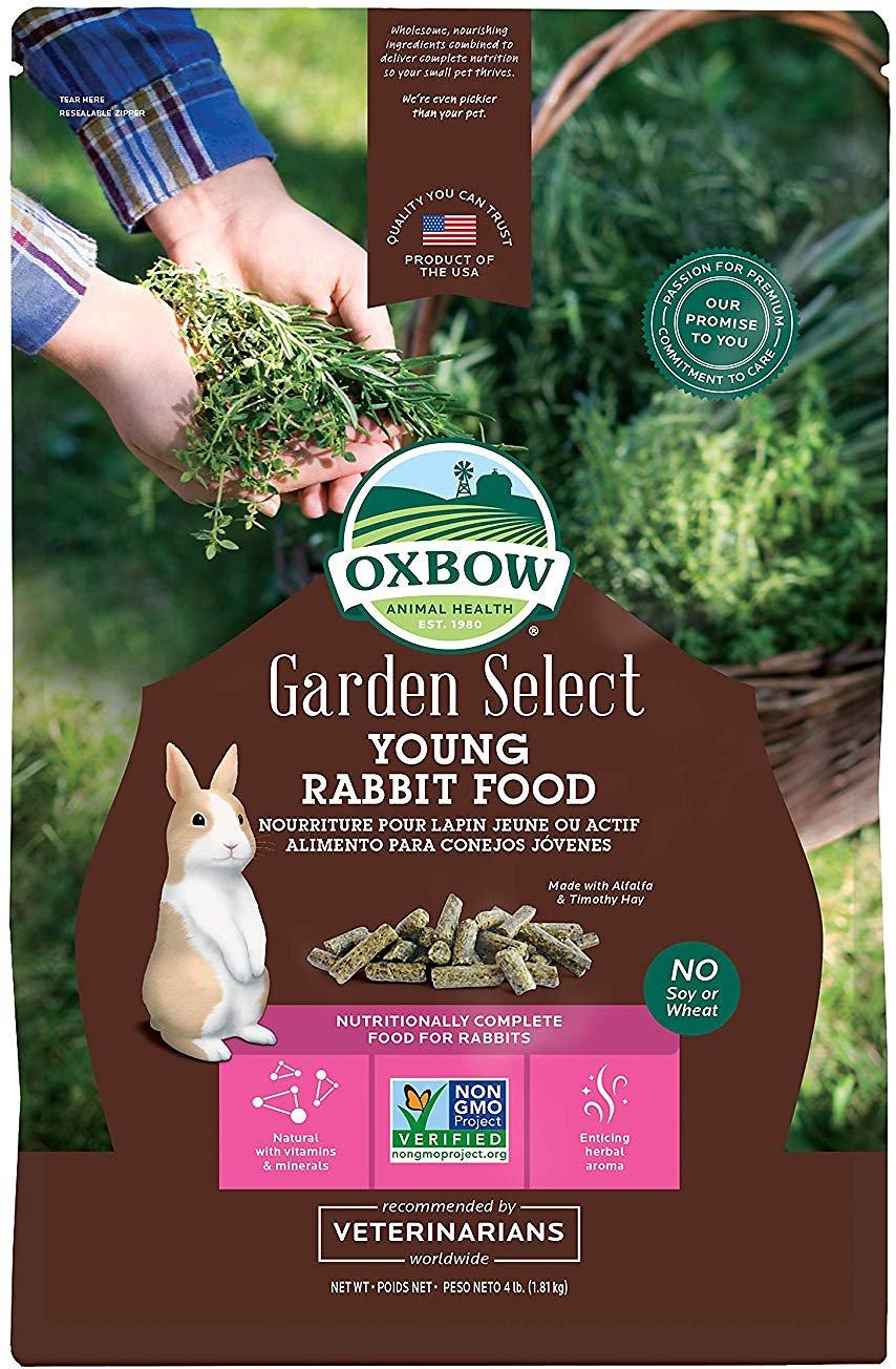 Oxbow Garden Select Young Rabbit Food, 4-lb