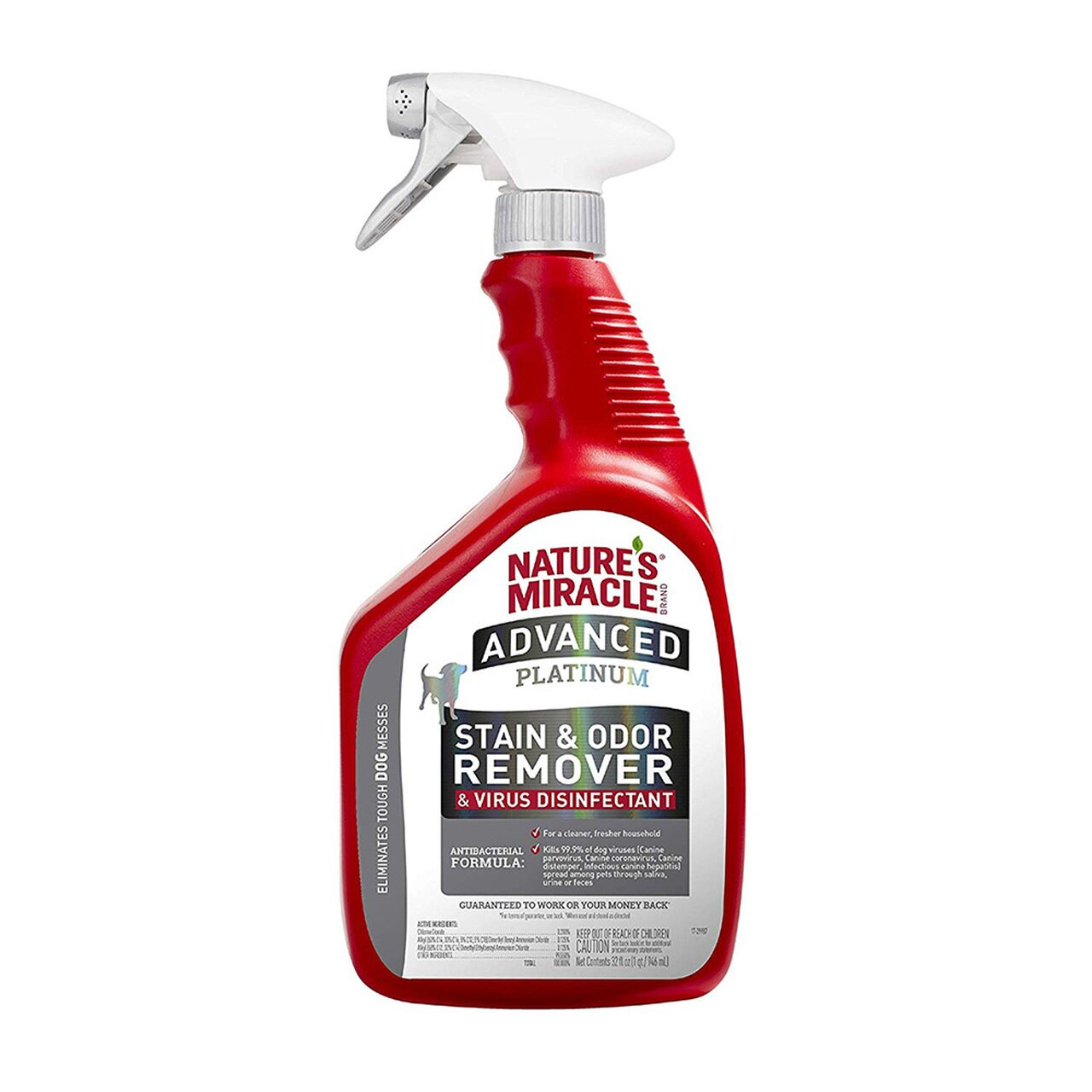 Nature's Miracle Advanced Platinum Dog Stain & Odor Eliminator Spray Image