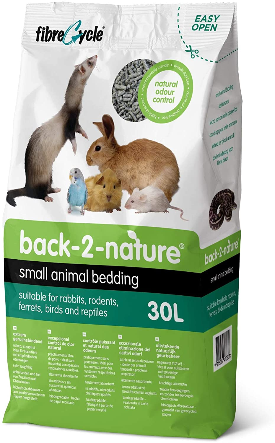 Back-2-Nature Small Animal Bedding, 30-L