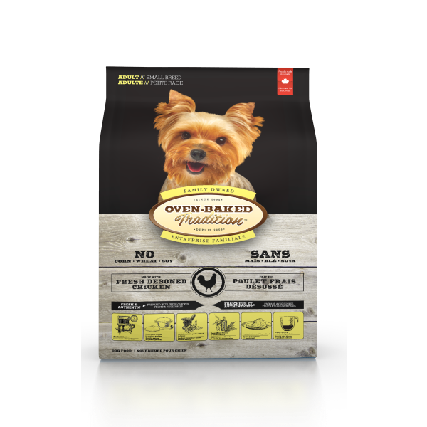 Oven-Baked Tradition Chicken Small Breed Dry Dog Food, 5-lb