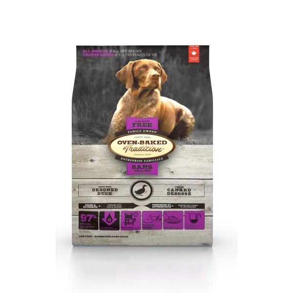 Oven-Baked Tradition Duck Grain-Free Dry Dog Food, 5-lb