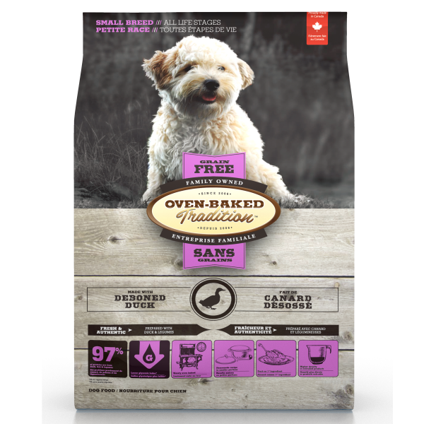 Oven-Baked Tradition Duck Small Breed Grain-Free Dry Dog Food, 5-lb