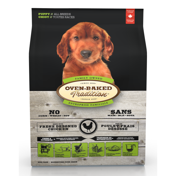 Oven-Baked Tradition Fresh Chicken Puppy Dry Dog Food, 5-lb