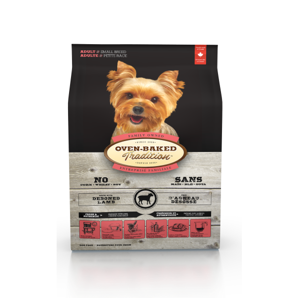 Oven-Baked Tradition Fresh Lamb Small Breed Dry Dog Food, 5-lb