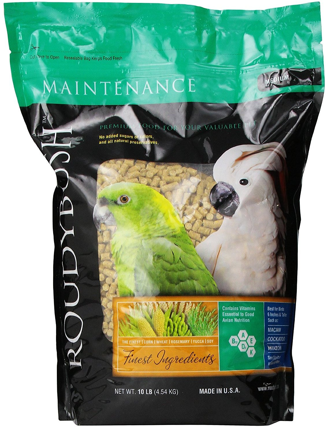 Roudybush Daily Maintenance Bird Food Medium, 25-lb