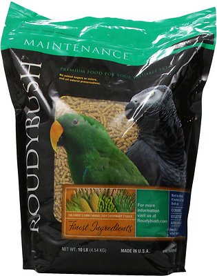 Roudybush Daily Maintenance Bird Food Small, 10-lb bag