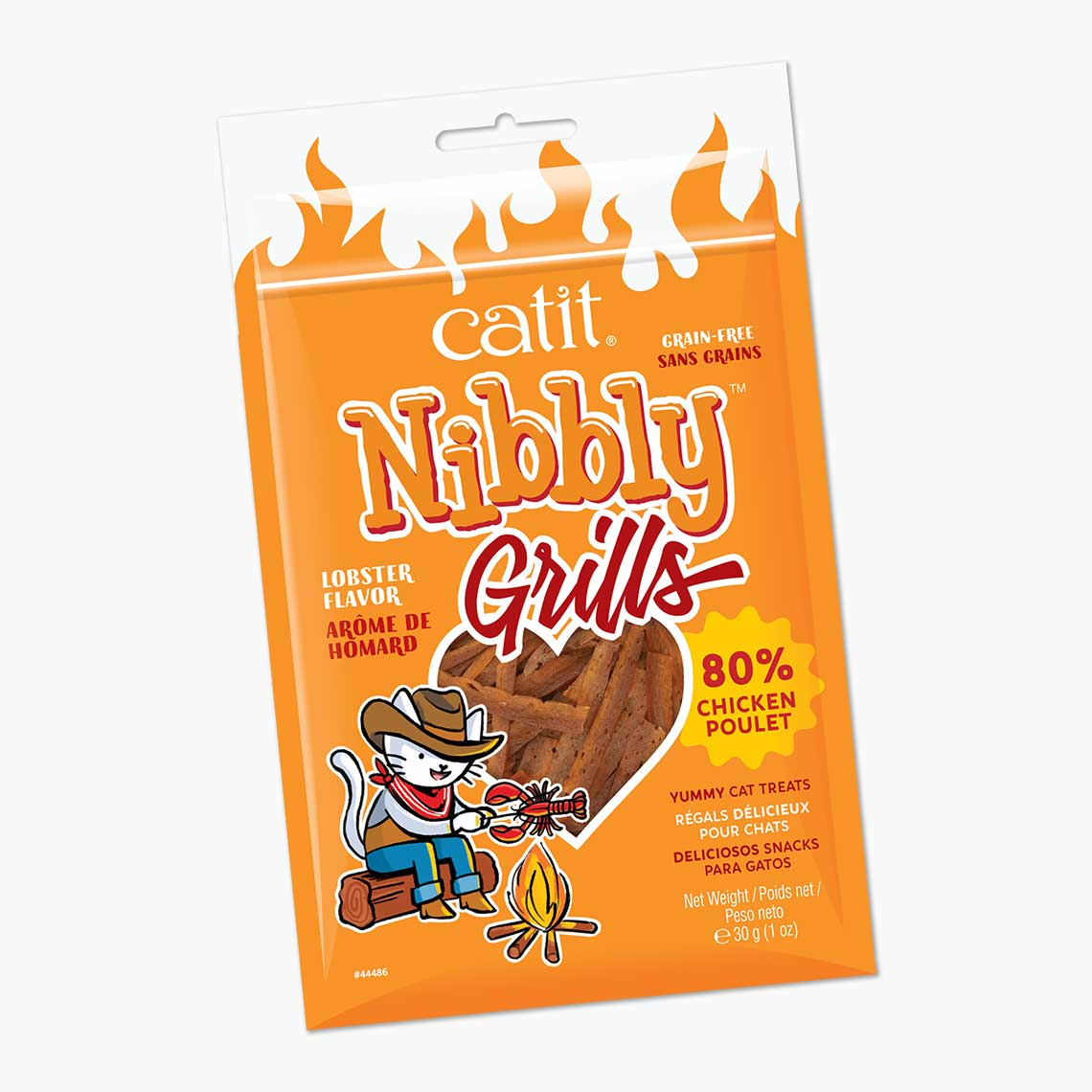 Catit Nibbly Grills Lobster Flavored Dog Treats, 1-oz