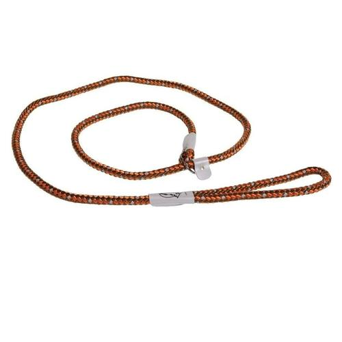 Coastal K9 Explorer Braided Slip Rope Dog Leash, Orange, 6-ft Image