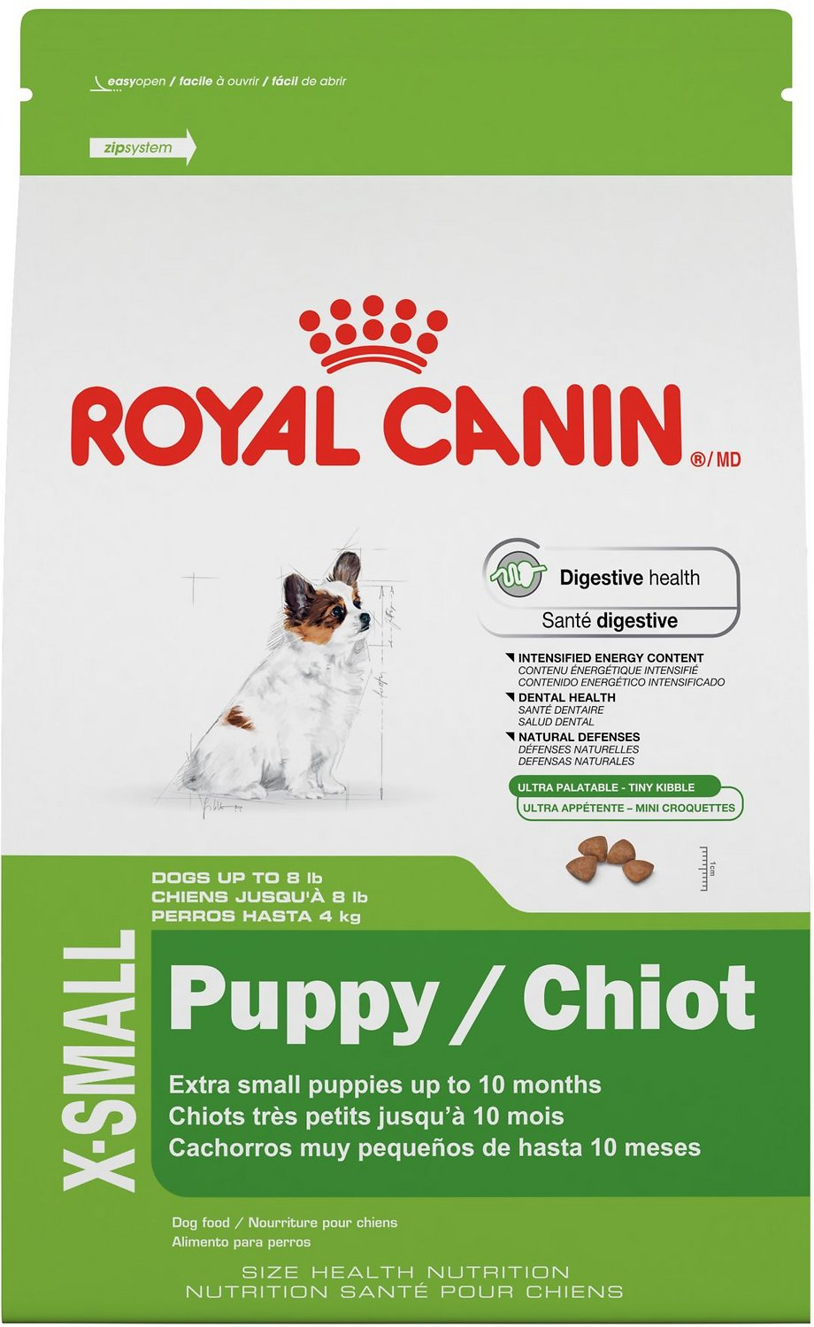 Royal Canin X-Small Puppy Dry Dog Food Image