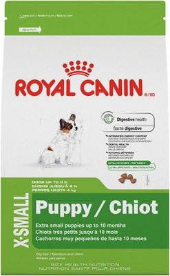 Royal Canin X-Small Puppy Dry Dog Food, 3-lb bag