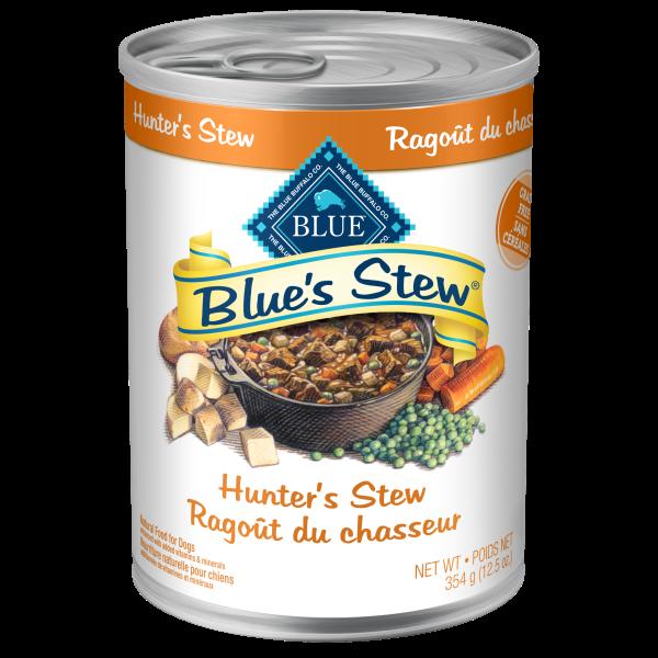 Blue Buffalo Blue's Hunter's Stew Adult Wet Dog Food, 12.5-oz